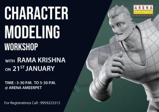 charecter modelling workshop